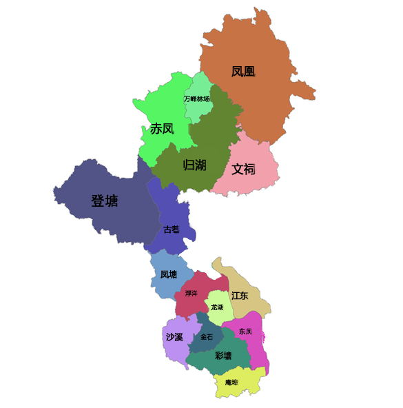 """江中下游,东邻饶平县,南连汕头 位于汕头、潮州、揭阳三市的""""金"""